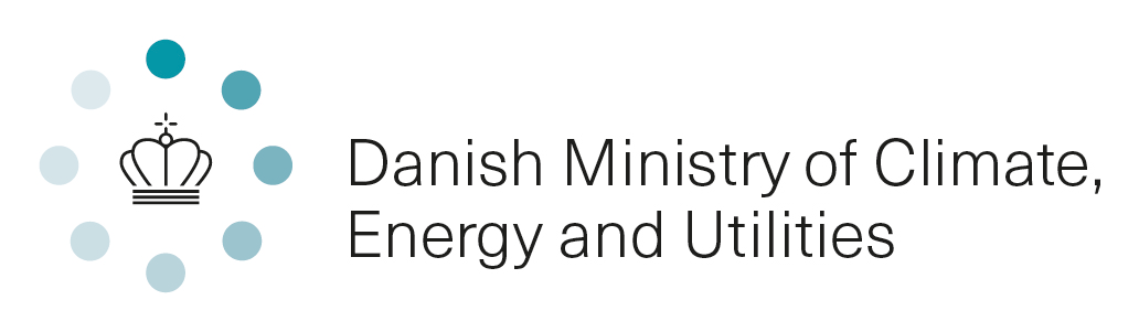 Logo Danish Ministry of Energy. Utilities and Climate